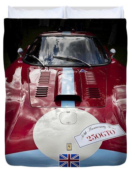 Ferrari 250 Gto Scaglietti 64 C Duvet Cover by Maj Seda