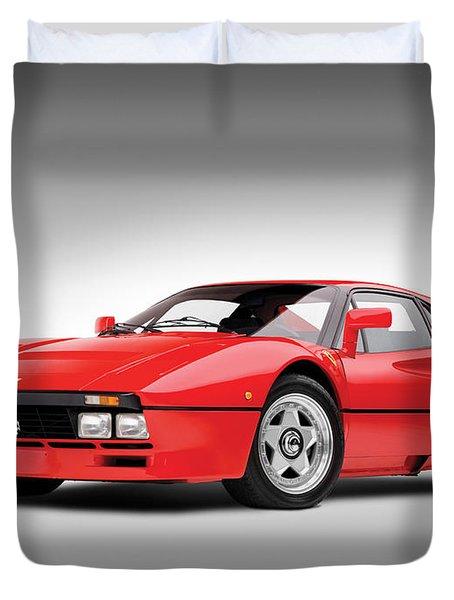 Ferrari 288 Gto Duvet Cover by Gianfranco Weiss