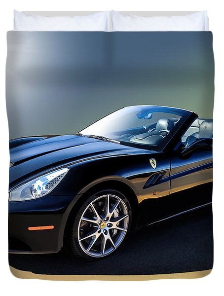Ferrari California Duvet Cover