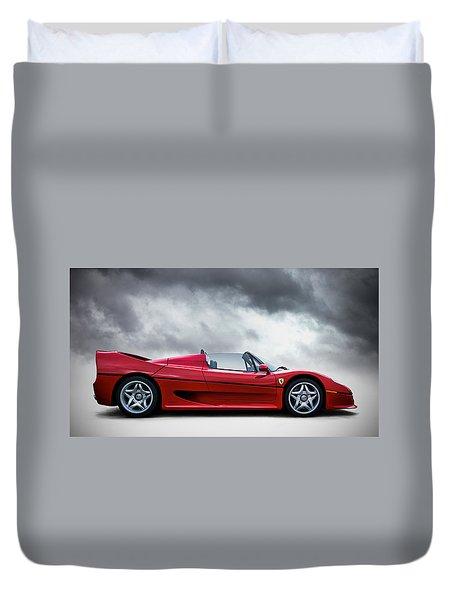 Ferrari F50 Duvet Cover