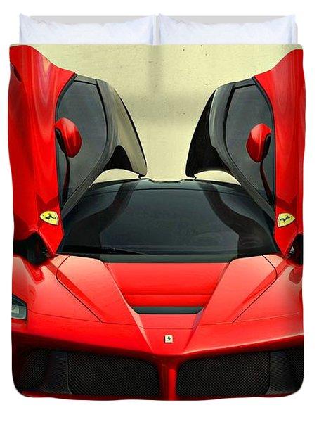 Ferrari Laferrari F 150 Supercar Duvet Cover