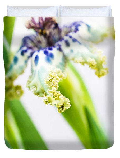 Ferraria Crispa Duvet Cover by Priya Ghose