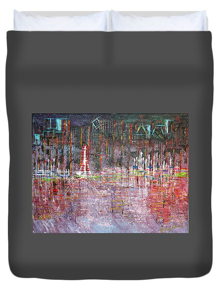 Ferris Wheel Fun - Sold Duvet Cover