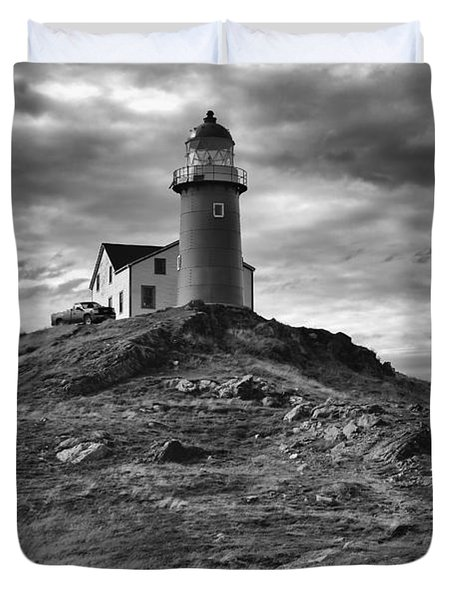 Ferryland Lighthouse Duvet Cover
