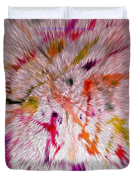 Festival Of Colours Duvet Cover