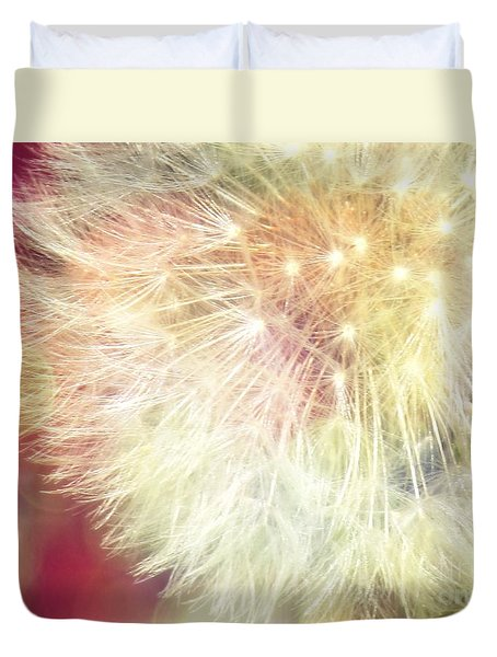 Duvet Cover featuring the photograph Festive by France Laliberte