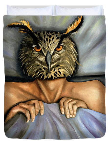 Fetish Nightmare 2 Duvet Cover by Leah Saulnier The Painting Maniac