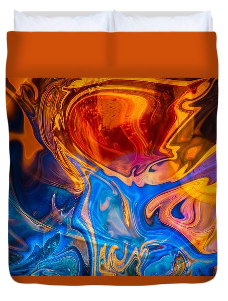 Fever Dreams Duvet Cover by Omaste Witkowski