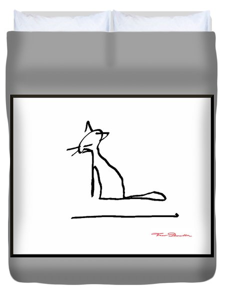 Fg 4 Duvet Cover by Theo Danella