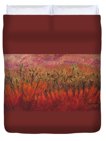 Field Dance Duvet Cover
