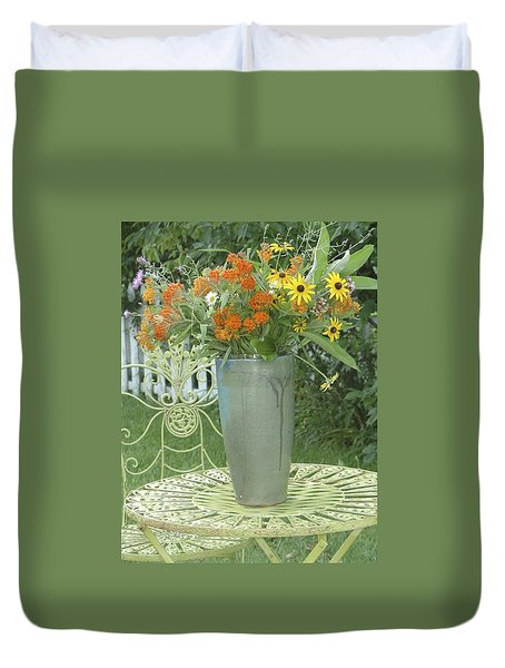 Field Flowers At The Mill Duvet Cover