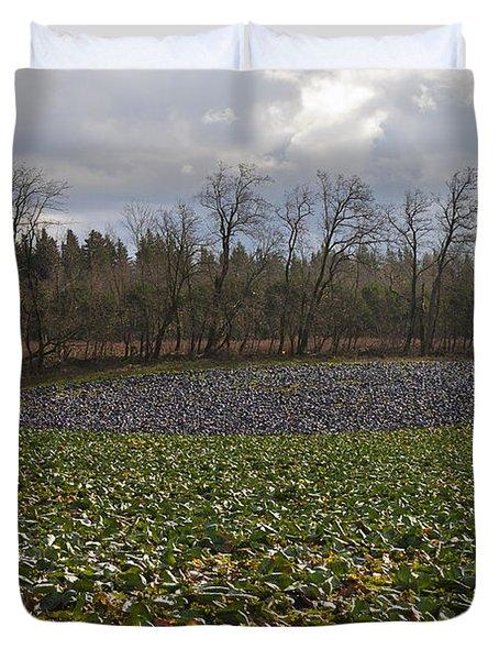 Field Of Color 2 Duvet Cover by Belinda Greb
