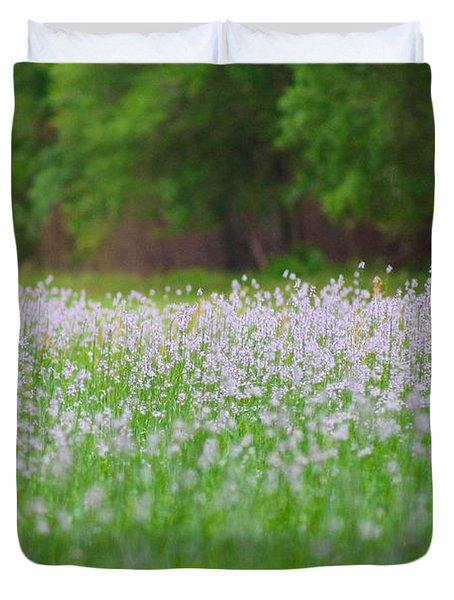 Field Of Flowers Duvet Cover