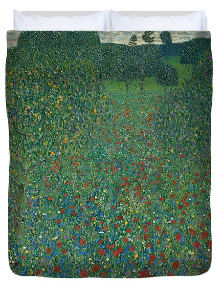 Field Of Poppies Duvet Cover