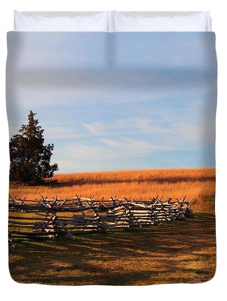 Field Of Shadows Duvet Cover
