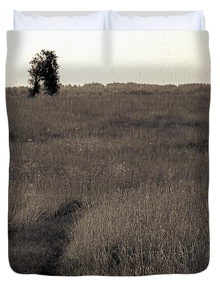 Field Ways Duvet Cover by Yevgeni Kacnelson