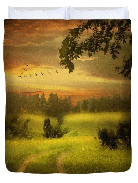 Fields Of Dreams Duvet Cover