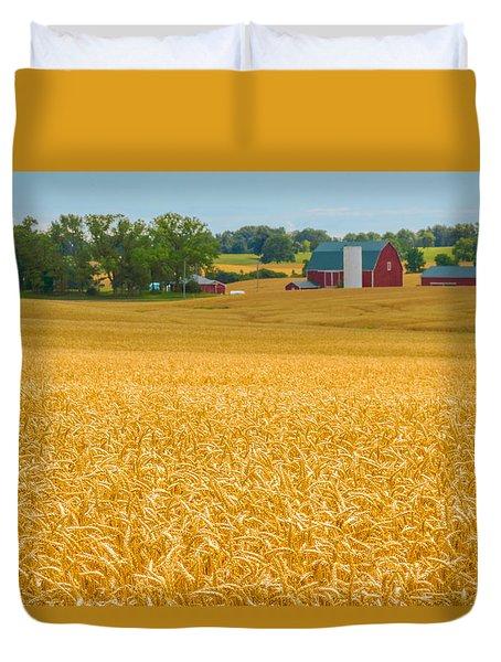 Fields Of Gold Duvet Cover