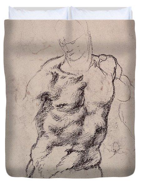 Figure Study Duvet Cover