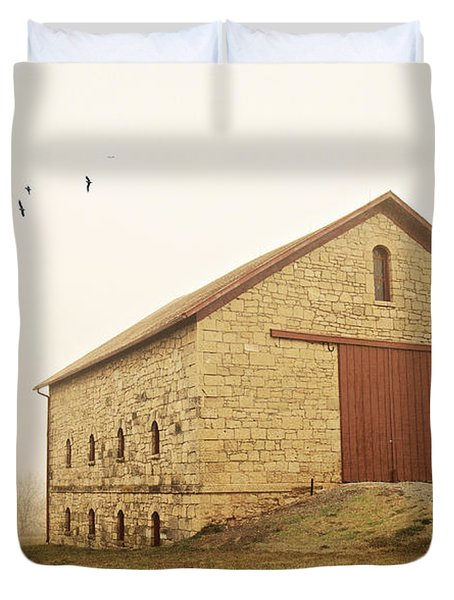 Filley Stone Barn 1 Duvet Cover