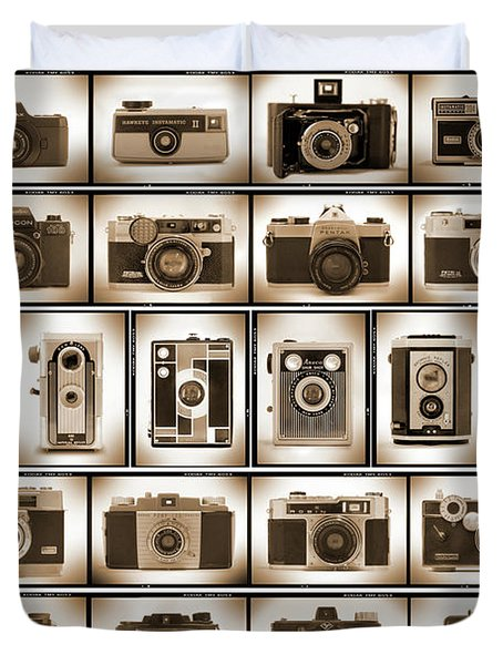 Film Camera Proofs Duvet Cover by Mike McGlothlen