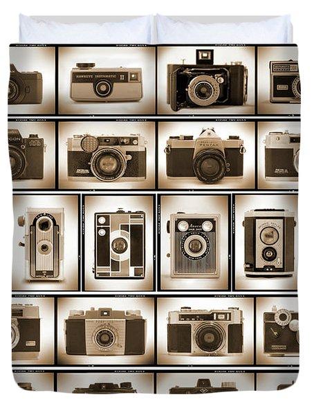 Film Camera Proofs Duvet Cover