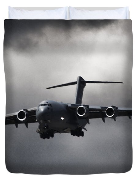 Final Approach Duvet Cover by Paul Job