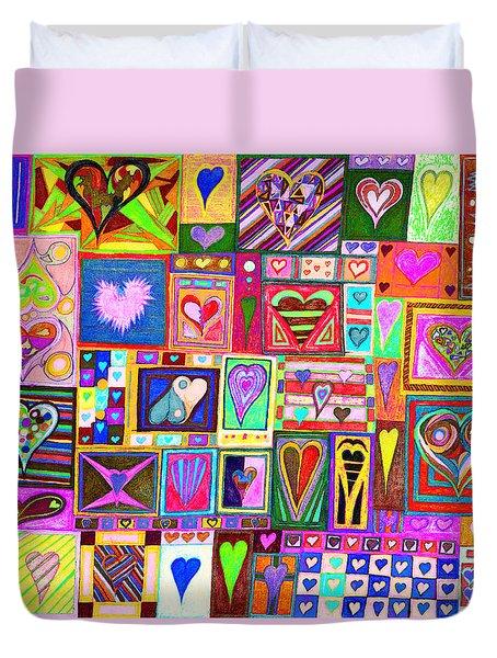find U'r love found v8 Duvet Cover