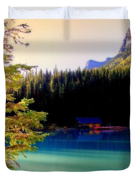 Finding Inner Peace Duvet Cover