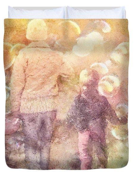 Finding Neverland Duvet Cover