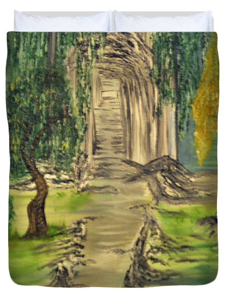 Finding Our Path Duvet Cover