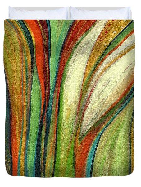 Finding Paradise Duvet Cover by Jennifer Lommers