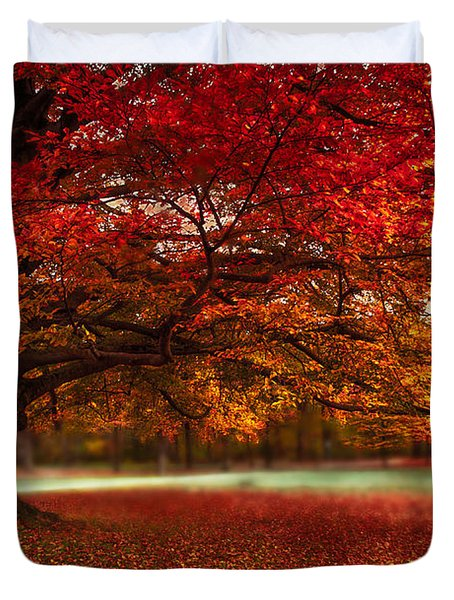 Finest Fall Duvet Cover by Hannes Cmarits
