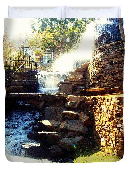 Finlay Park Fountain Duvet Cover