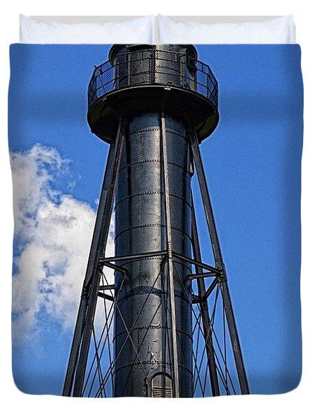 Finns Point Lighthouse Duvet Cover