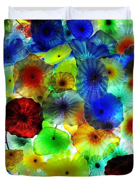 Fiori Di Como By Glass Sculptor Duvet Cover