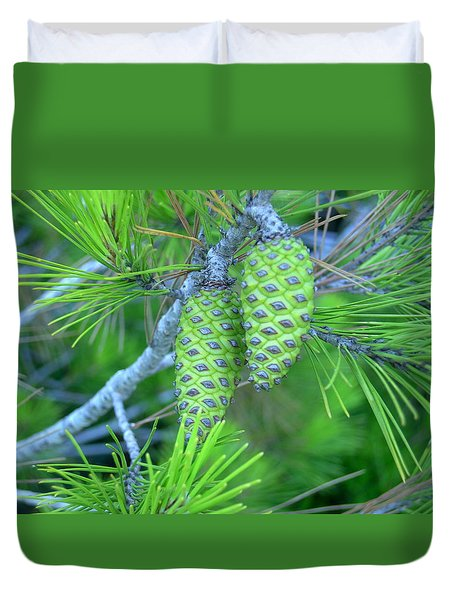Fir Cones Duvet Cover