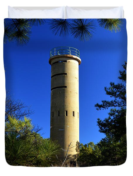 Fct7 Fire Control Tower #7 - Observation Tower Duvet Cover