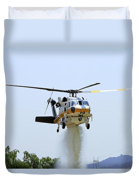 Fire Hawk Water Drop Duvet Cover