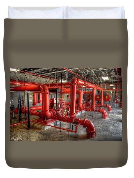 Fire Pump Room 2 Duvet Cover