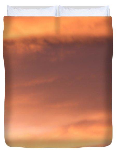 Fire Skyline Duvet Cover