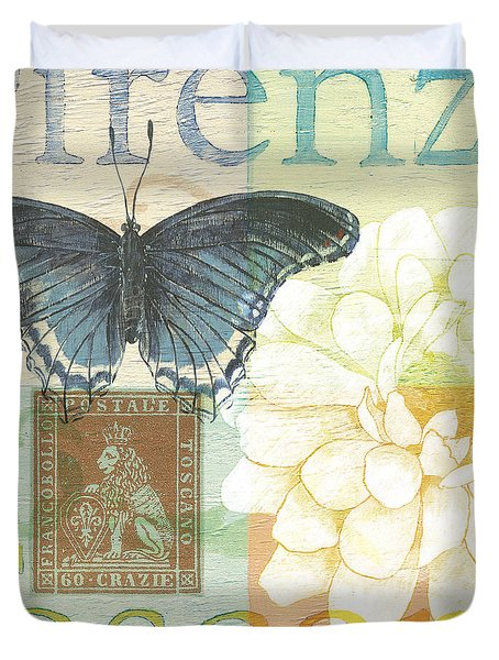 Firenze Duvet Cover by Debbie DeWitt