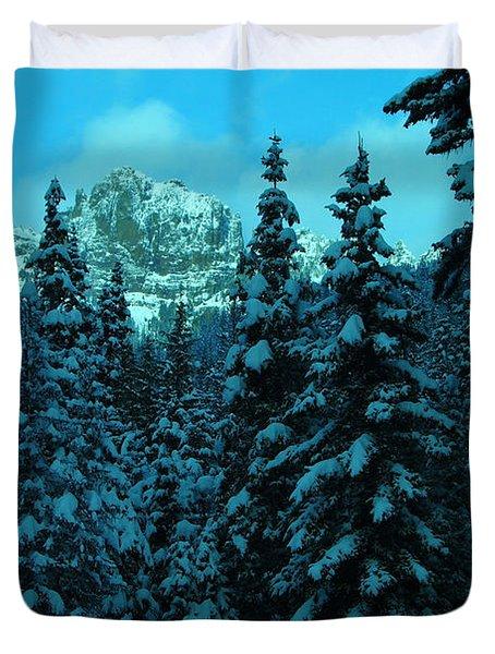 Fifes Peak Duvet Cover