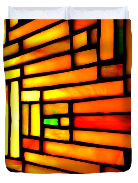 Firewall Duvet Cover by Newel Hunter