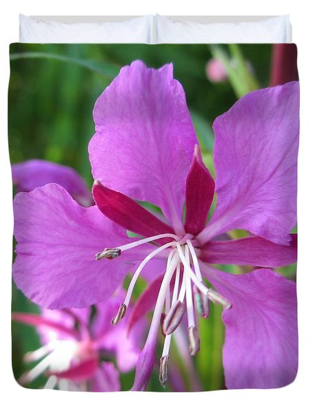 Fireweed 1 Duvet Cover