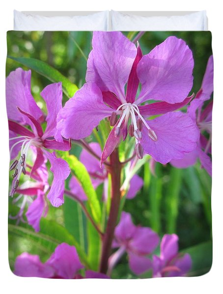 Fireweed 3 Duvet Cover