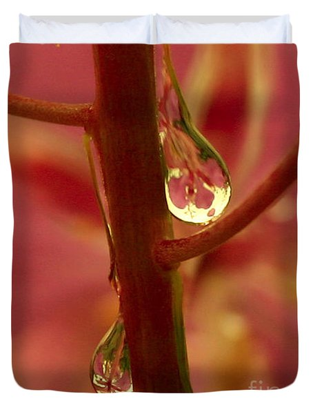 Fireweed Duvet Cover by Crystal Magee