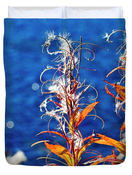 Fireweed Flower Duvet Cover
