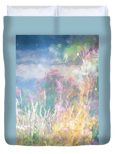 Fireweed Number 9  Duvet Cover by Brian Boyle