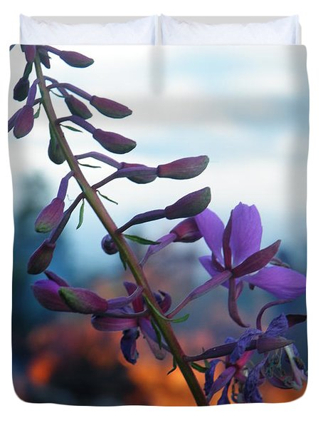 Fireweed Number Five Duvet Cover